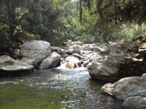Ciudad Perdida - swimming hole 640