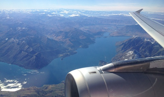 departing Queenstown 542