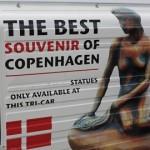 Copenhagen Mermaid souvenirs 542