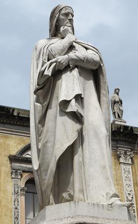 Dante in Piazza dei Signori 271