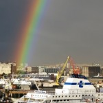 Naples port rainbow 271