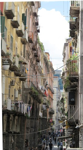 Naples street - Via Tribunali 271