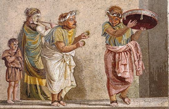 Pompeii mosaic 542
