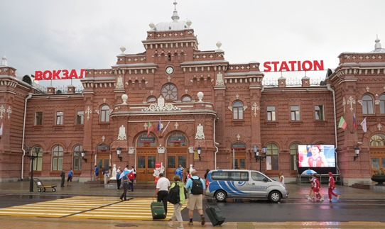 Kazan train station 542