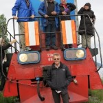Lake Baikal - riding the locomotive 271