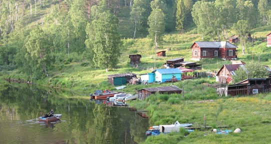 Lake Baikal village 542