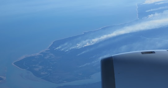 Melville Island burning 542