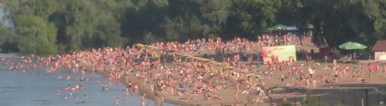 Novosibirsk - riverside beach 542