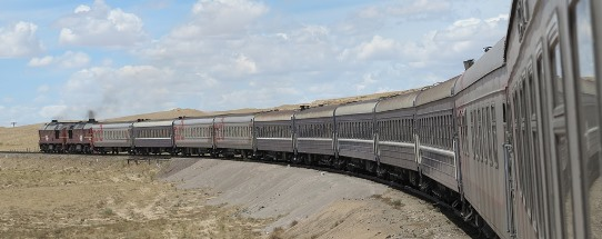 Train in the Gobi 542