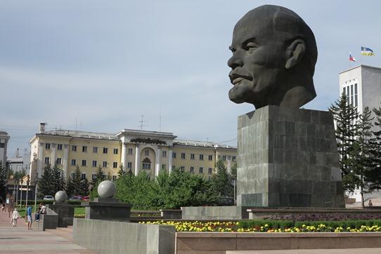 Ulan Ude Lenin head 542