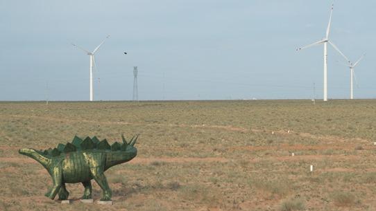 dinosaurs approaching Erlian 542
