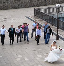 running bride 271