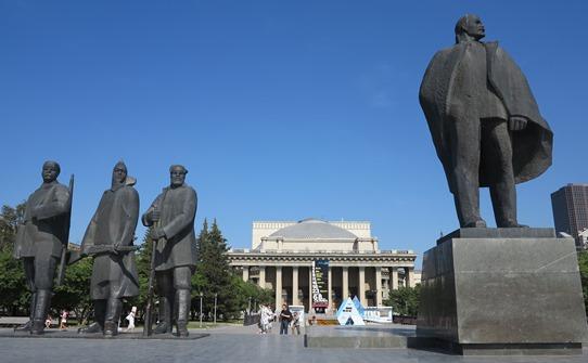 Lenin in Novosibirsk 542