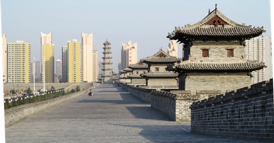 Datong - city walls 542