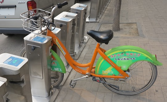 Taiyuan bike hire 542