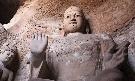 Yungang - Cave 3 Buddhas