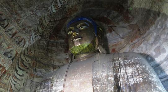 Yungang - Cave 5 Buddha