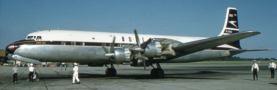 1960 - DC-7C 01 542