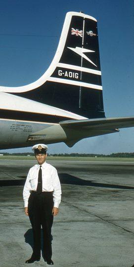 1960 - Dad & DC-7C 271
