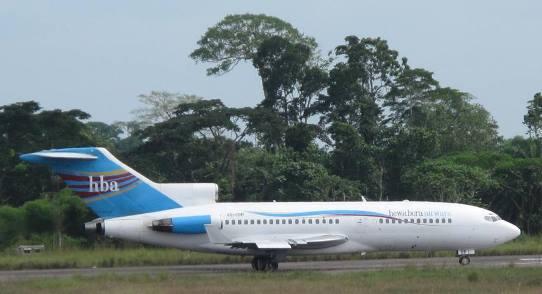Kisangani - Hewa Bora 727-100 542