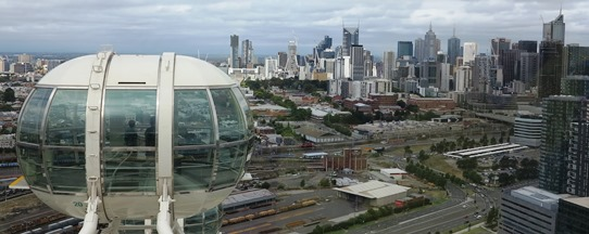 2013 - Melbourne Star city view