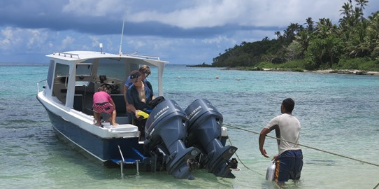 Ha'apai dive boat 542