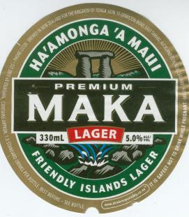 Maka beer label 271