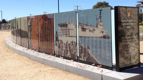 Seymour Vietnam Veterans Walk 542