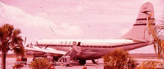 1955 - Boeing Stratocruiser, Nassau 542