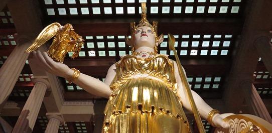 IMG_4646 - statue of Athena, Parthenon, Nashville 542