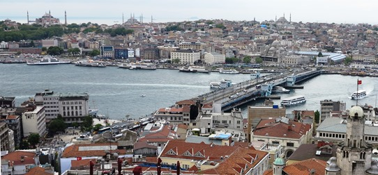 IMG_4938  - Galata Bridge from Galata Tower 542