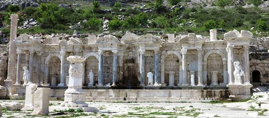IMG_5738 - Antonine Nymphaeum fountain, Sagalassos 542