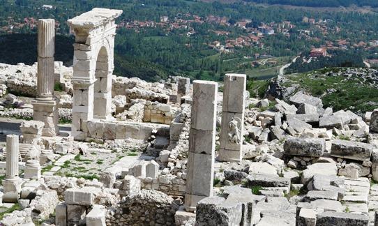 IMG_5759 - Arch of Claudius, Bouleuterion Columns & Ağlasun, Sagalassos 542