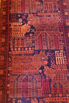 IMG_2099 - Baluch cat carpet - 270
