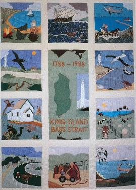 King Island Museum quilt - 270