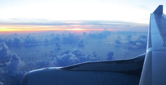 IMG_2878 - sunrise, Melbourne to Hong Kong
