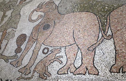 IMG_4096. - mosaic, Otranto Cathedral - 540
