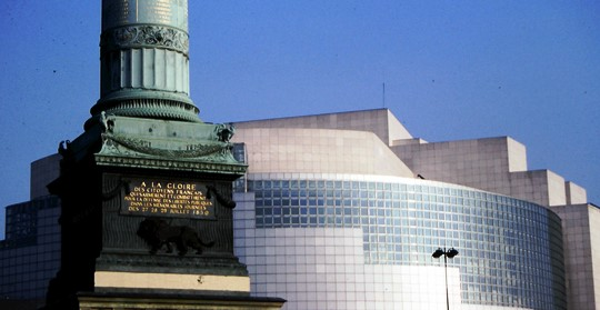 Place de la Bastille, July Column, Opera Bastille - 540