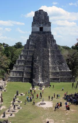 IMG_5901 - Templo I, Gran Plaza, Tikal - 270