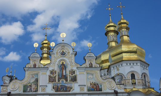 IMG_7619 - cathedral at Kyevo-Pecherska Lavra - 540