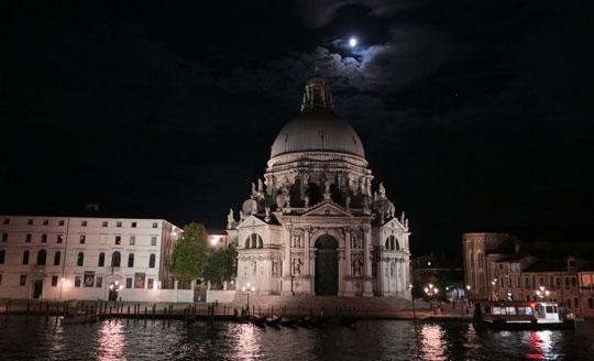 IMG_7958 - nightfall, Basilica di Santa Maria della Salut - 540