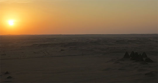 IMG_1989 - sunset, Jebel Barkal - 540