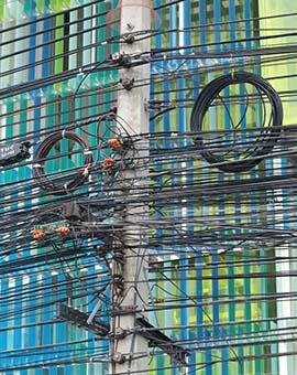 IMG_2623 - electrical wiring, Laem Chabang - 270