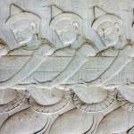 IMG_3090 - Churning the Ocean of Milk, bas relief - Angkor Wat - 540