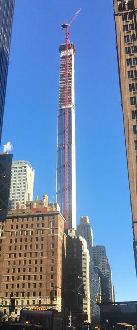 New York City – Tall, Skinny Skyscrapers