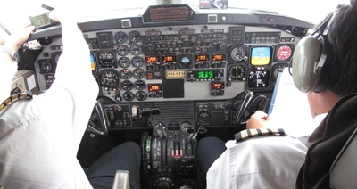 Beechcraft controls