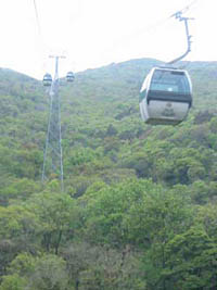 Putuoshan cable car