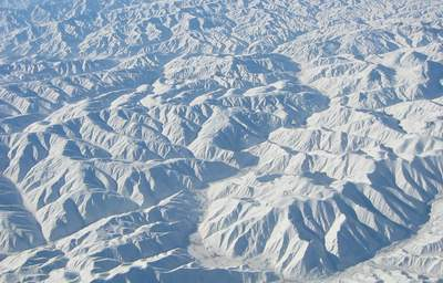 The mountains of Central Afghanistan