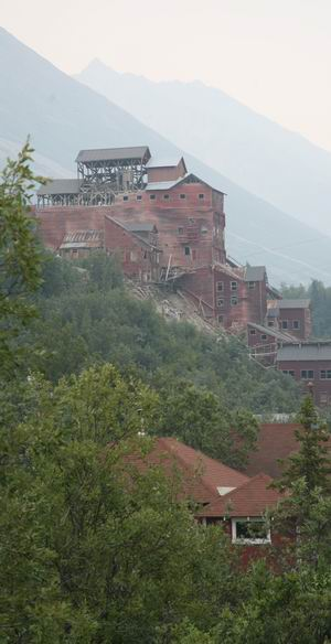 Kennicott mine building