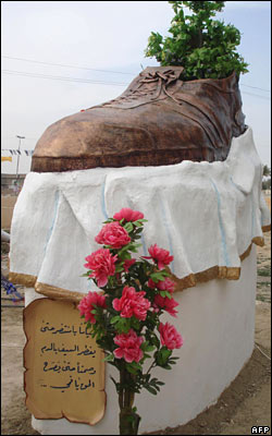 Tikrit big shoe